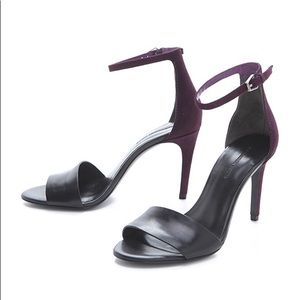 Alexander Wang Carmen Ankle Strap High Heel Sandal
